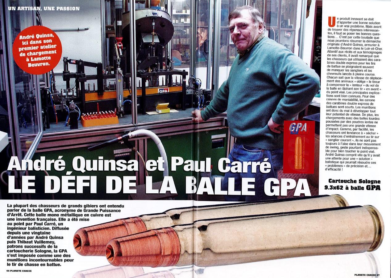 Le Defi De La Balle GPA – Mr Quinsa & Carré | Planète Chasse